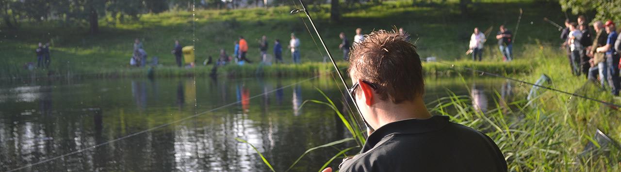 Stichting Forelvissen Genemuiden organiseert vissen voor het goede doel
